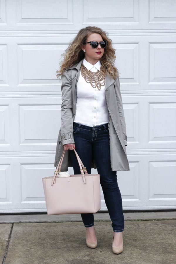 BaubleBar Courtney Bib, Lawyer Fashion Blog