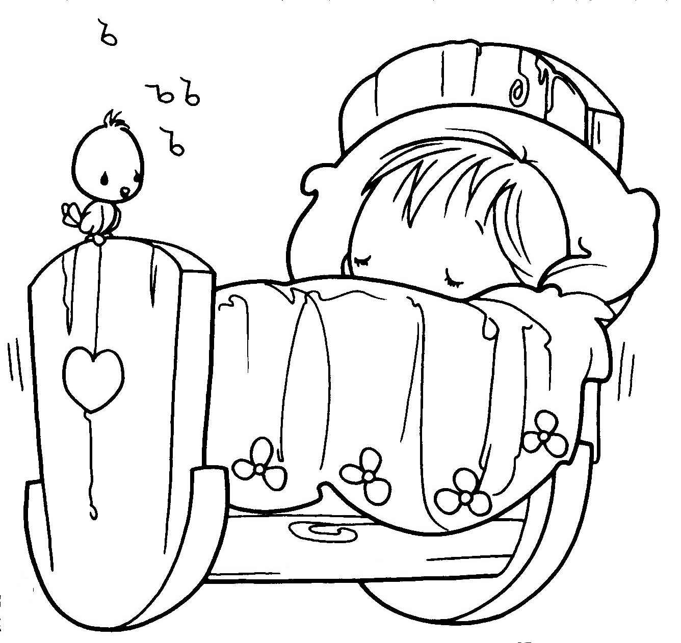 baby boy clip art coloring pages - photo #13
