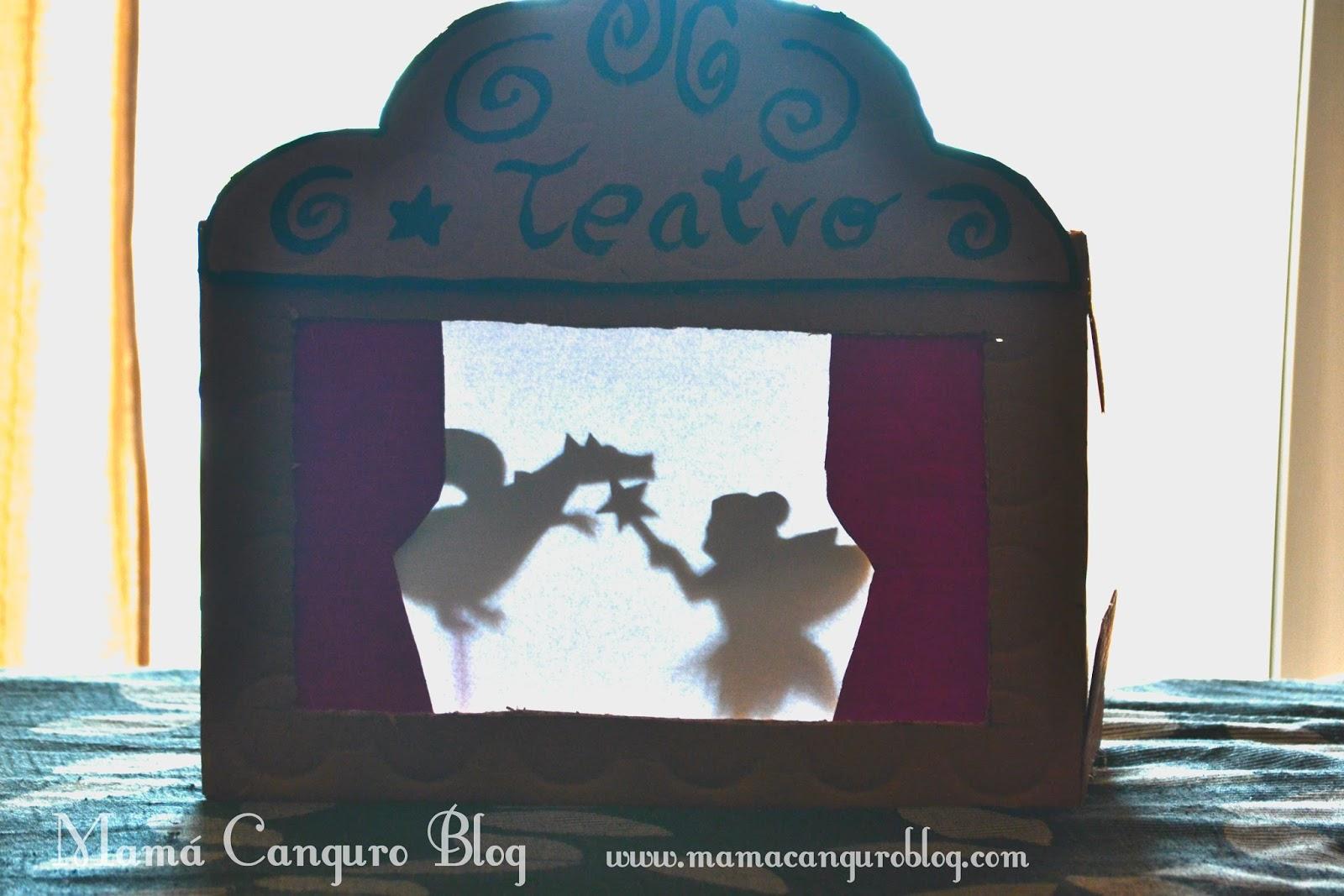 Mamá Canguro : Teatro sombras chinas DIY