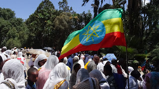 During Easter is a lot of celebrations in Addis Ababa