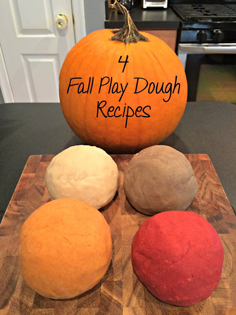 Fall Playdough Recipes