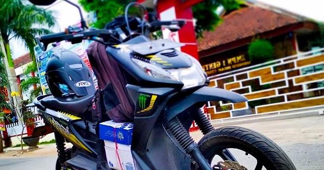 32 Ide Top Modifikasi Motor Beat Street Supermoto