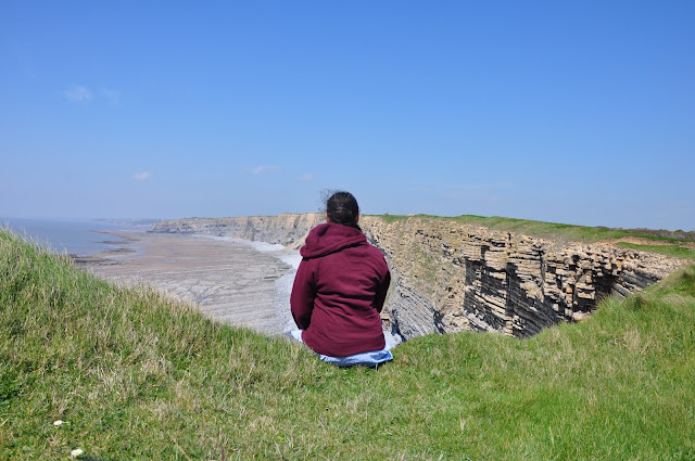 Meditation Moment, Nash Point, Wales, UK