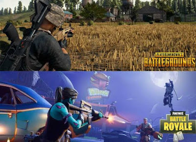 pubg vs fortnite which one is better