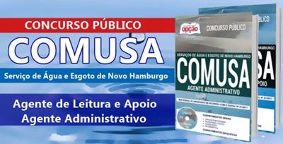 Apostila Concurso COMUSA-RS 2018