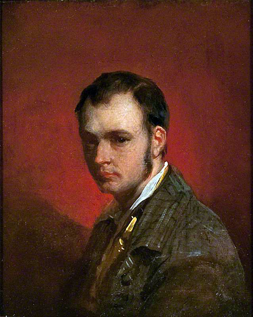 John Phillip, Self Portrait, Portraits of Painters, Fine arts, Portraits of painters blog, Paintings of John Phillip, Painter John Phillip