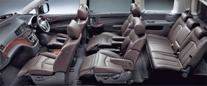 interior new elgrand