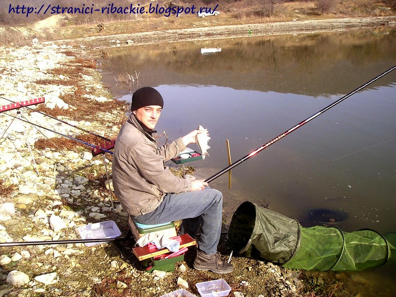 Рыбалка в брыньковской