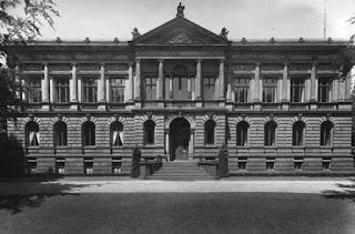 Haupteingangsfront des Provinzial-Museums Bonn, vor 1937