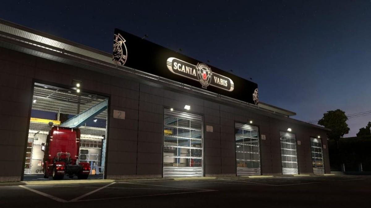 Garage Scania Vabis
