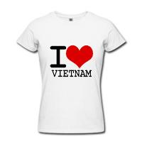 áo thun i love việt nam