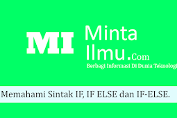 Memahami Sintak IF, IF ELSE dan IF-ELSE #4