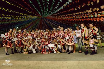 São João da Chapada 2016: Dança Realeza da Boa Nova