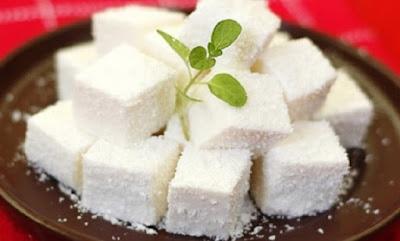hình ảnh bánh kem dừa nạo