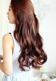 model gaya rambut korea ke dua