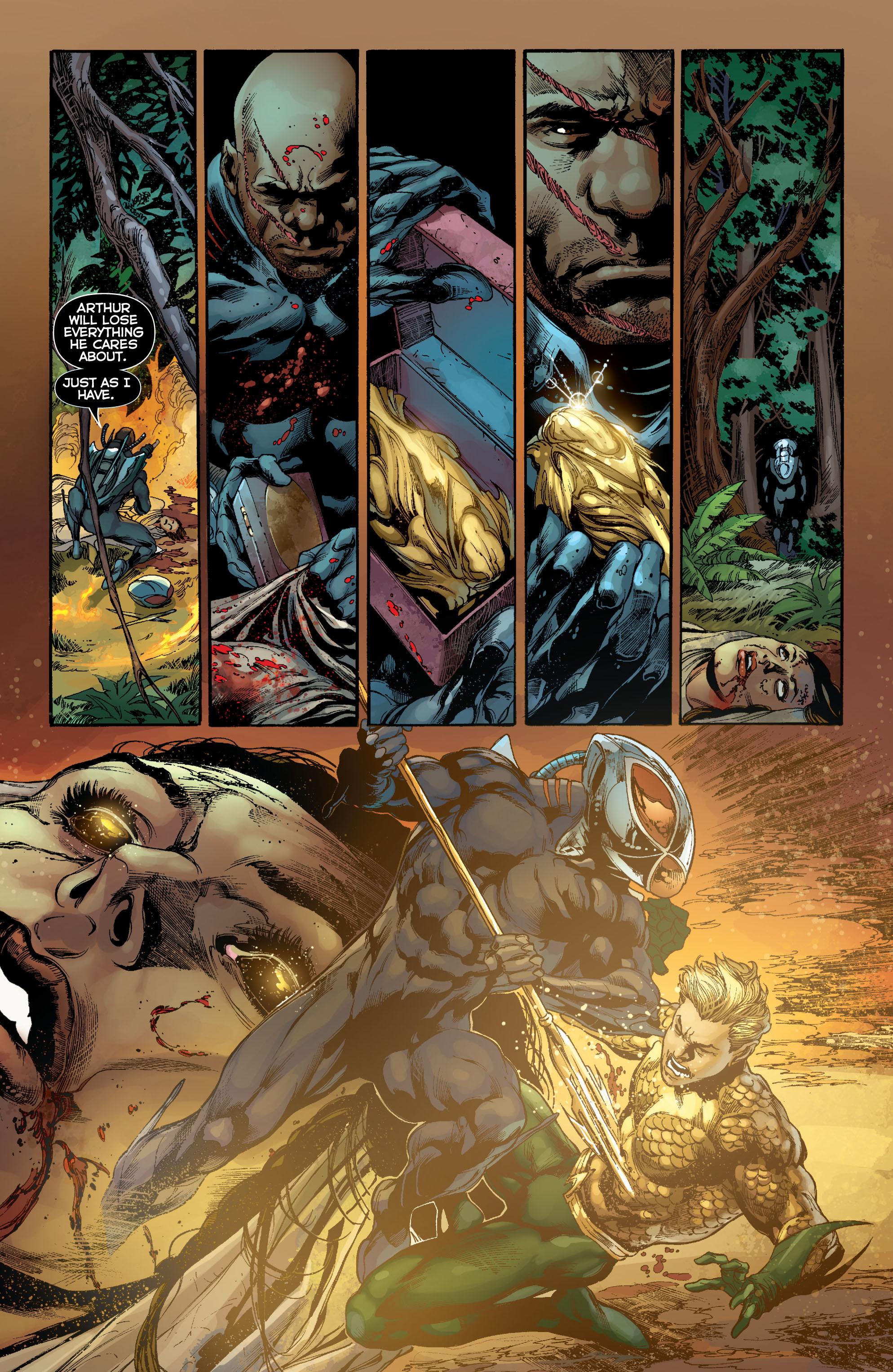 Read online Aquaman (2011) comic -  Issue #7 - 11