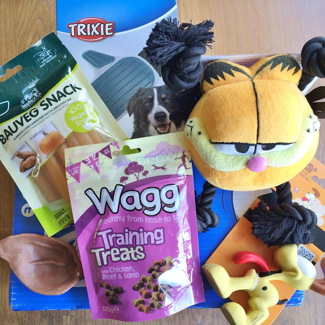 Review of Pawsome Box March