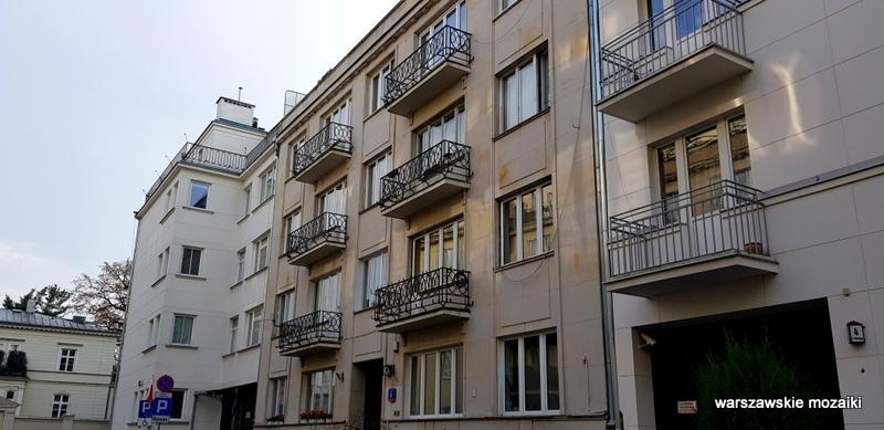 warszawa warsaw warszawskie ulice funkcjonalizm architektura przedwojenne  pierzeja