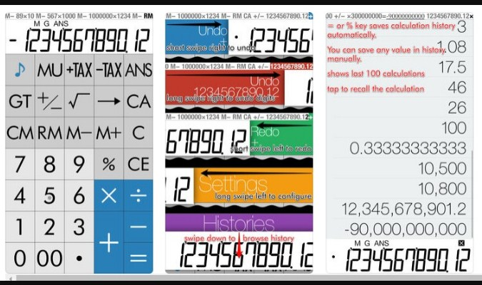 Aplikasi iPhone - RealCalc S