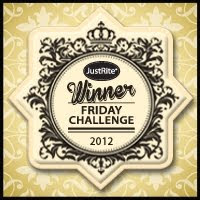 JustRite Friday Challenge Winner. March 22, 2012