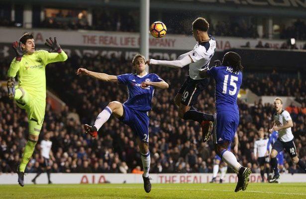 Tottenham ends Chelsea 13-game winning streak