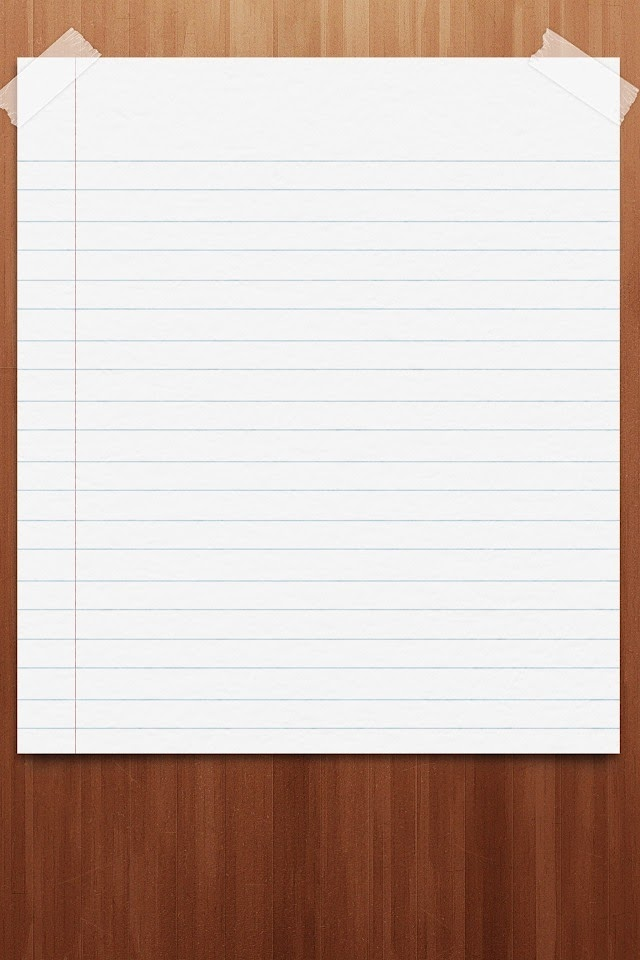 Blank Paper  Galaxy Note HD Wallpaper