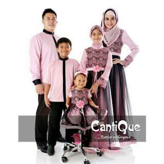 baju lebaran set keluarga