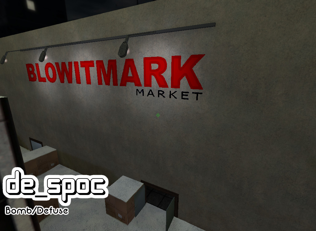 Counter Strike 1.6 - de_spoc