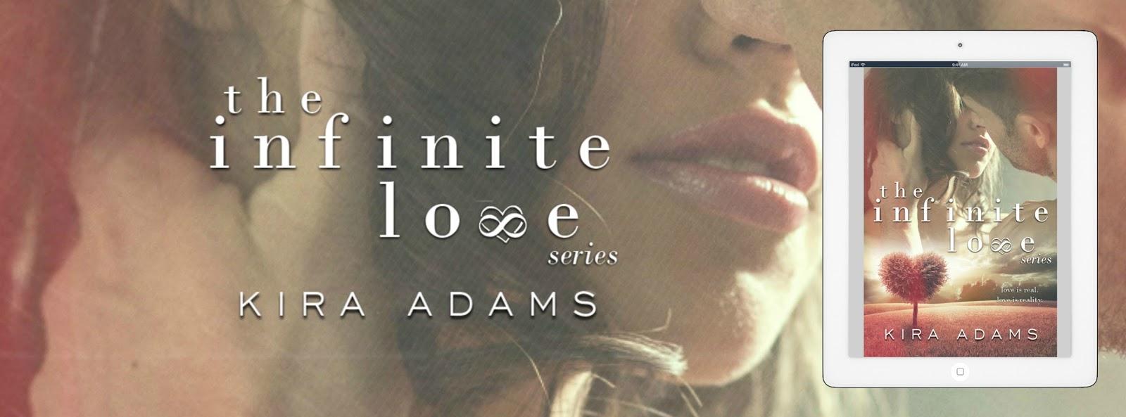*Cover reveal* Infinite Love box set by Kira Adams