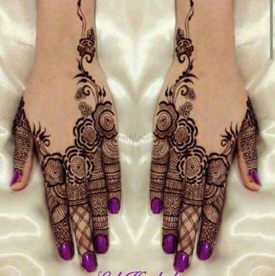 40 Latest Mehndi Designs To Try This Year Bling Sparkle