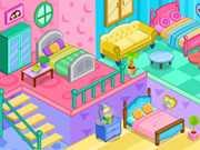 لعبة تصميم منزل بنات