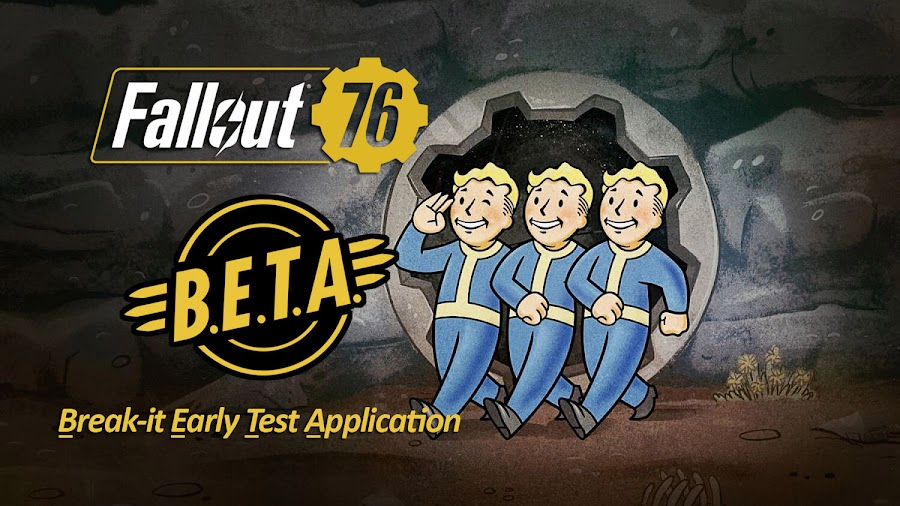 fallout 76 beta test october