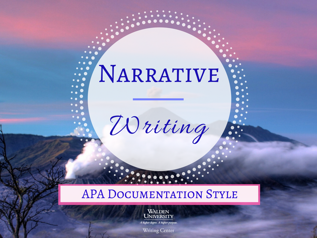 Apa style narrative