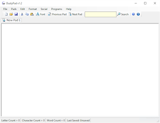 DustyPad v1.2 Released - Multi-tab NotePad Utility 1