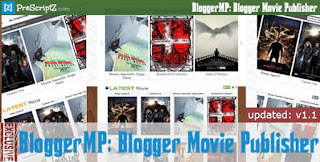 Download Blogger Movie Publisher v1.1.5 – Watch Movie Blog Maker PHP Script