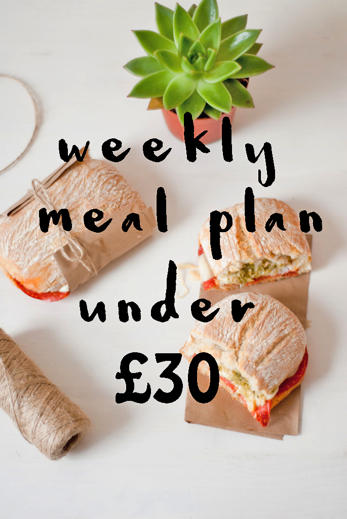 weekly, meal, plan, budget, bargain, cheap, food, family, blog, blogger, uk, cooking, homemade