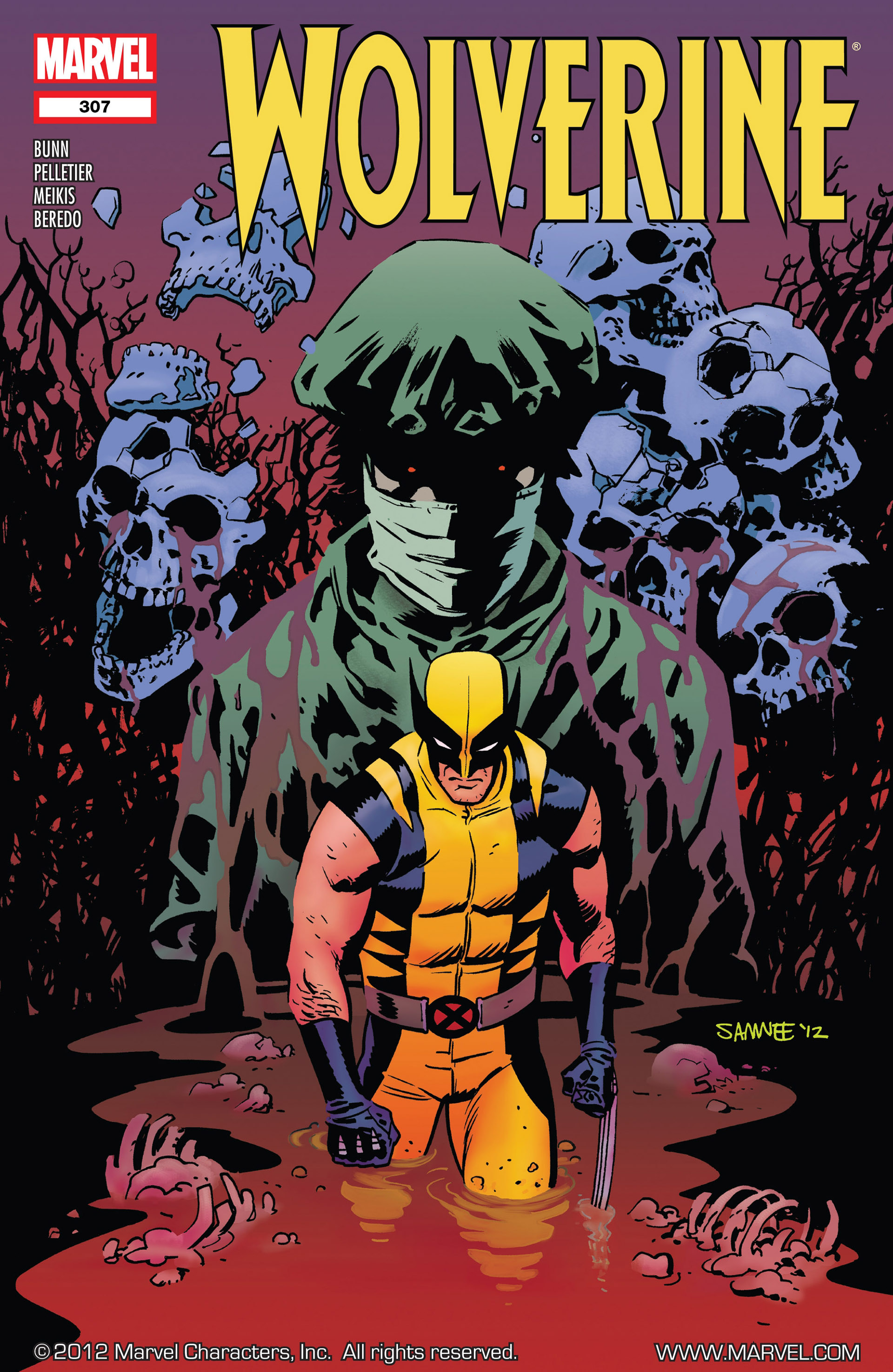 Wolverine (2010) 307 Page 1