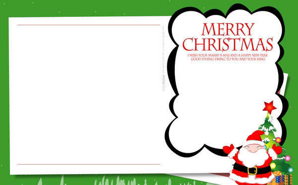 Christmas Photo Cards Templates
