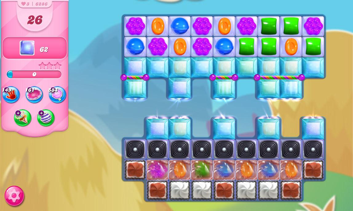 Candy Crush Saga level 6286