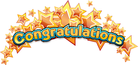 congratulation word png image