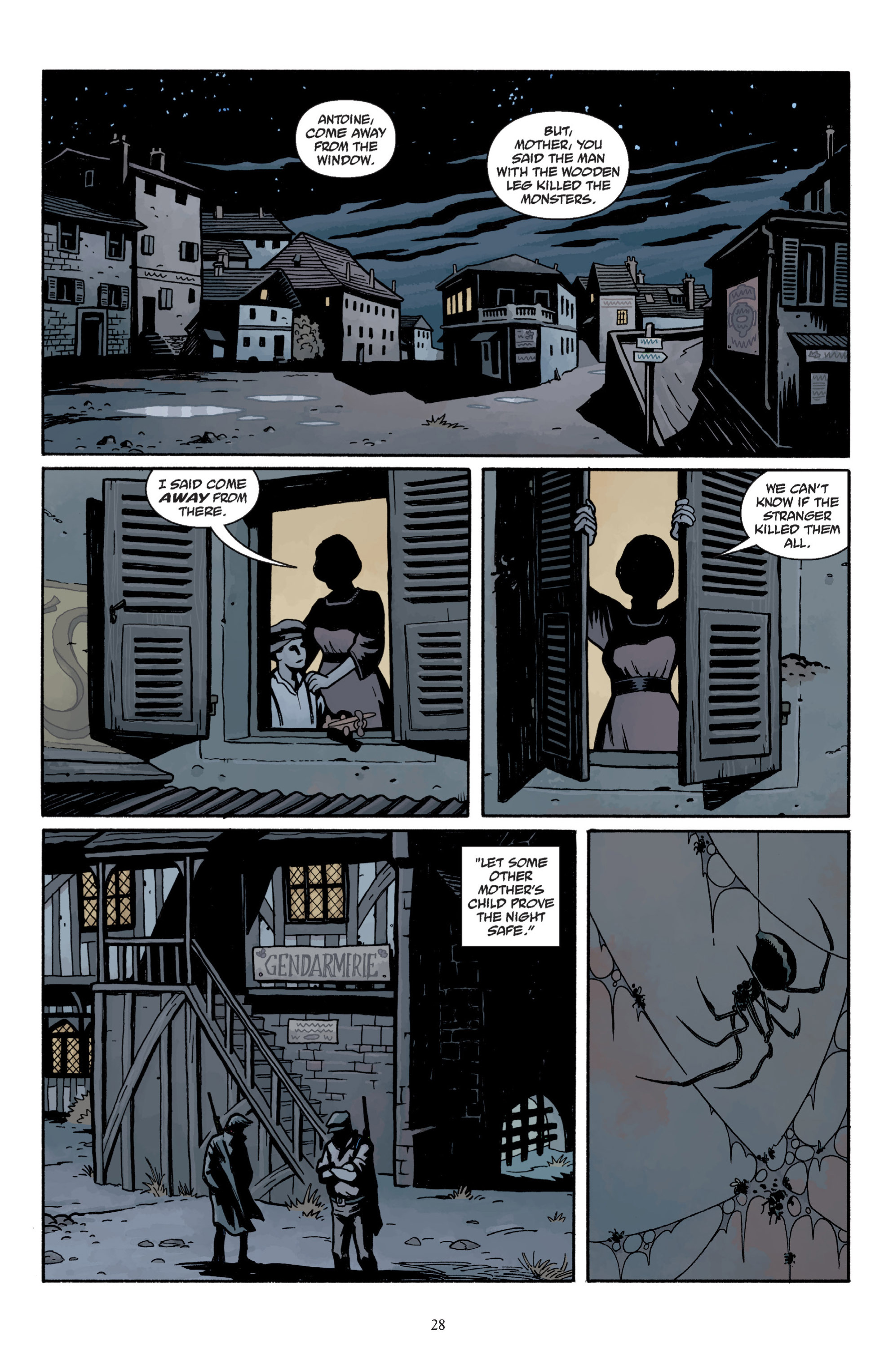 Read online Baltimore: The Plague Ships comic -  Issue # TPB - 30