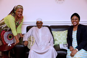 2 Buhari, Wife Receive Delegate In London News