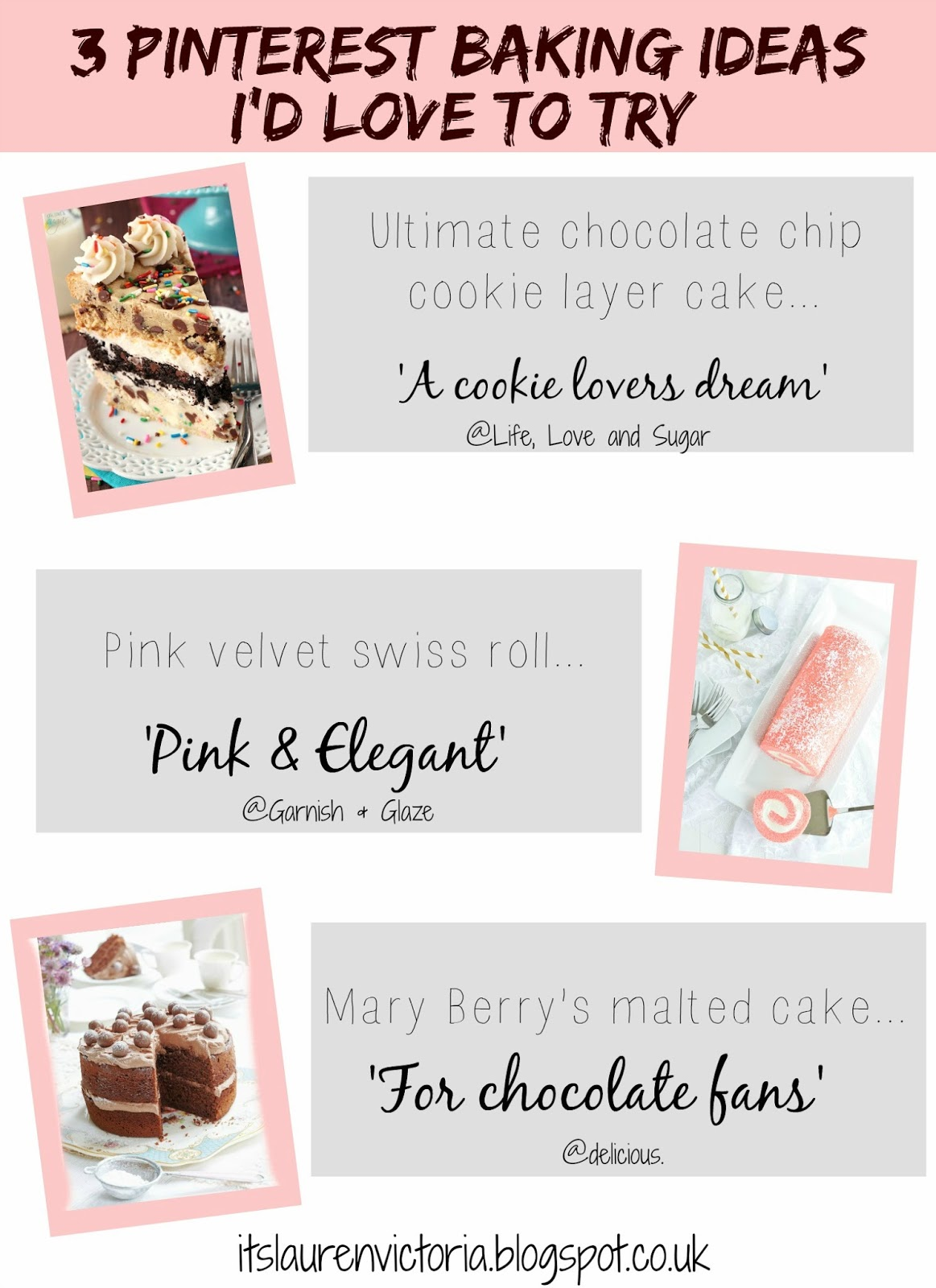 3 Pinterest Baking Ideas I'd Love To Try