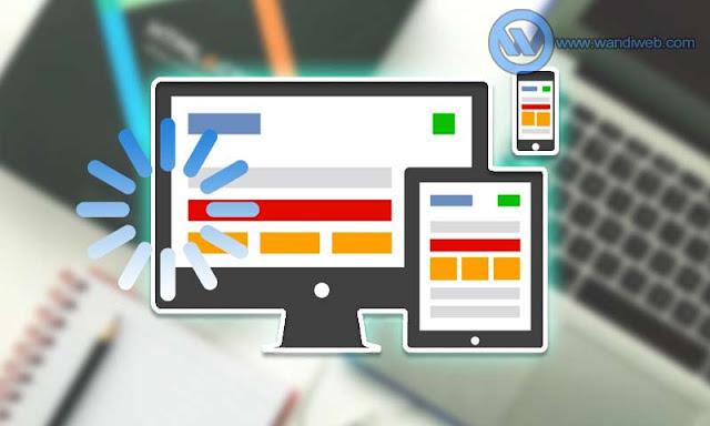 Cara Sederhana Mempercepat Loading Halaman Web dan Blog - WandiWeb