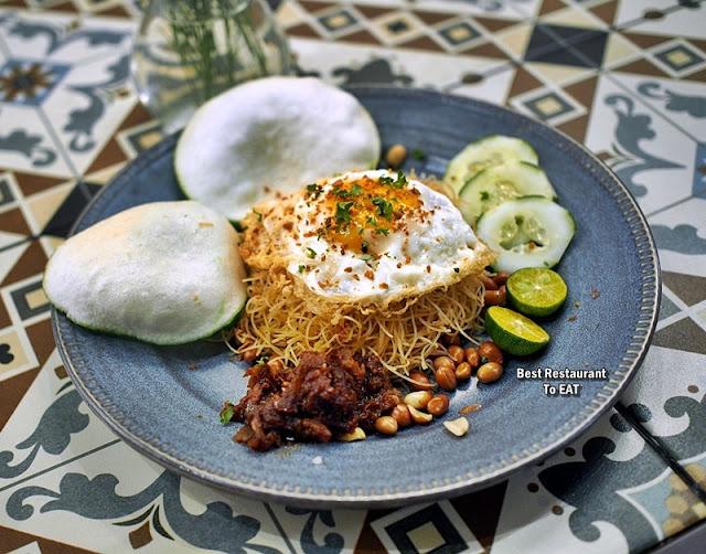 Luckin Kopi Petaling Street Menu - Mee Siam
