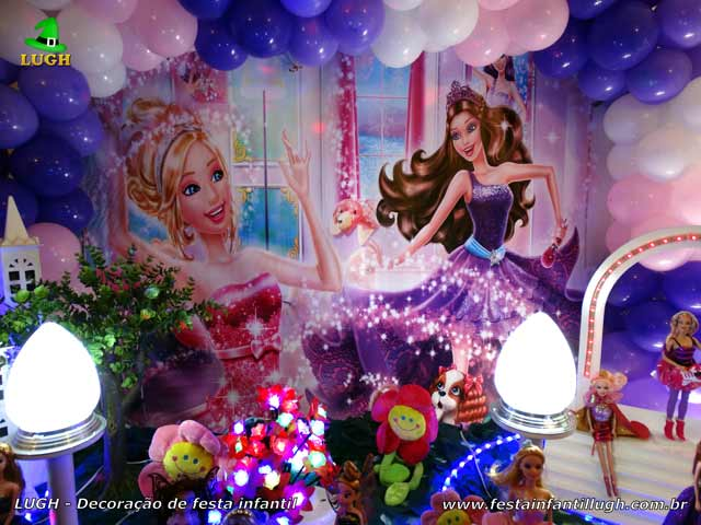 Festa infantil Barbie Pop Star