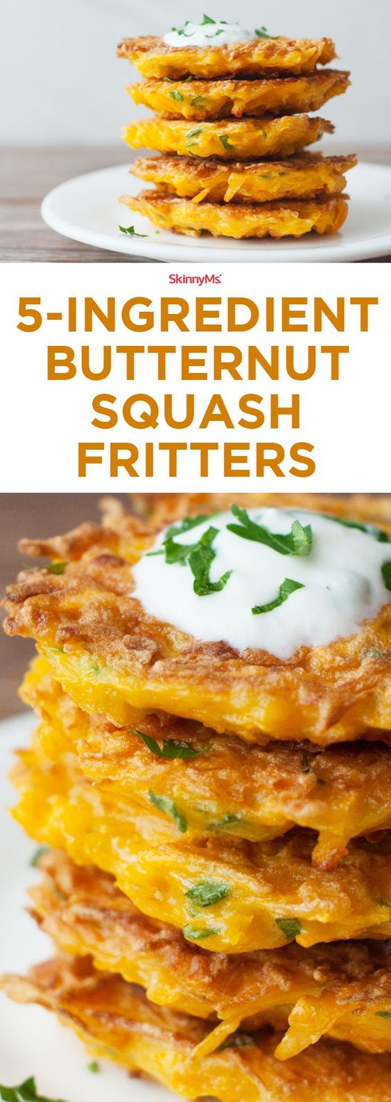 5-Ingredient Butternut Squash Fritters