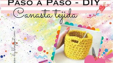 Canasta Tejida - Diy