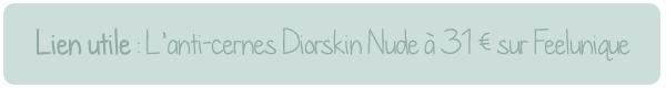 diorskin nude dior anti cernes revue avis test avant apres