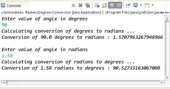 Degree Calculator Angle